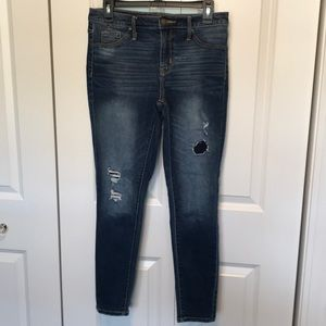 Mossimo High Rise Jegging Jean Womens size 4 x 27L